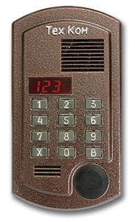 Домофон ТехКом ДА-100 - многоабонентский аудиодомофон