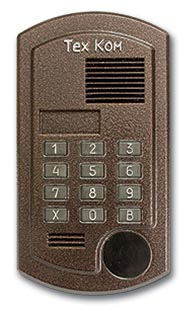 Домофон ТехКом ДА-20 - многоабонентский аудиодомофон